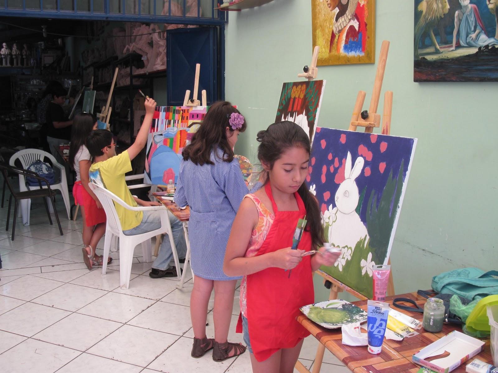 Saber Mas Santa Fe - Grütly: Seminario de pintura para niños y niñas ...